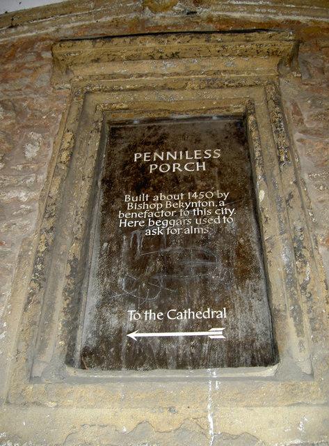 Penniless Porch