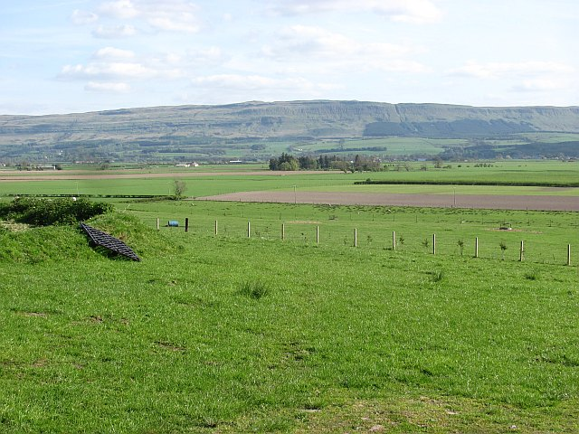 Flanders Moss seen from Thornhill