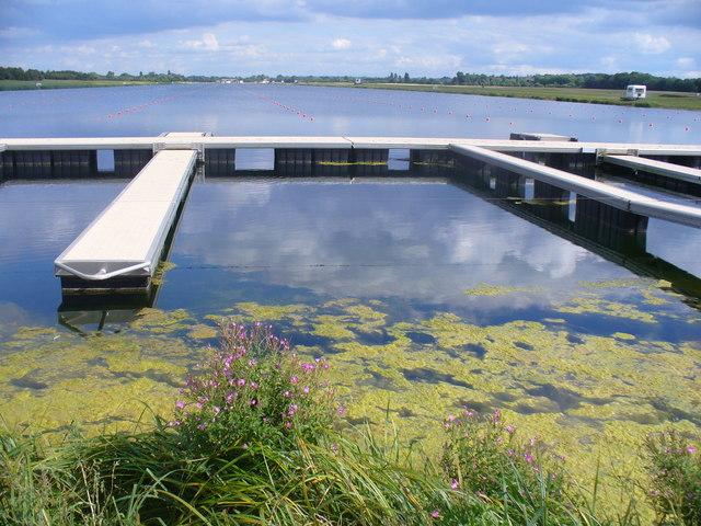 The Start, Dorney Lake