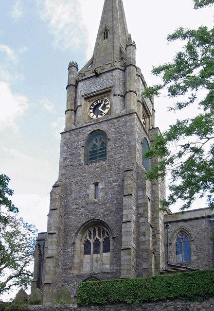 Clitheroe - church tower