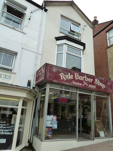 Ryde Barber Shop, High Street