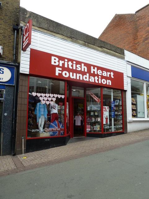 Ryde High Street- charity shop (a)