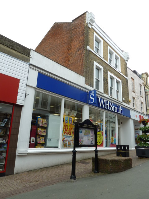 Ryde High Street- WH Smith