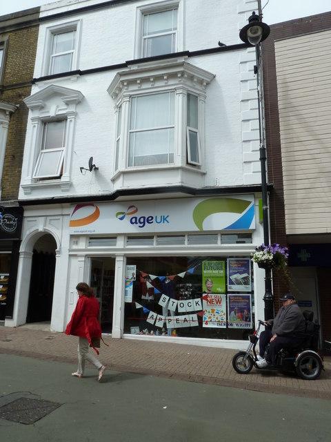 Ryde High Street- charity shop (b)