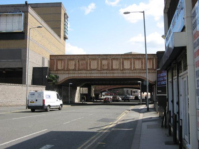 Former Railway Bridge over Victoria Street