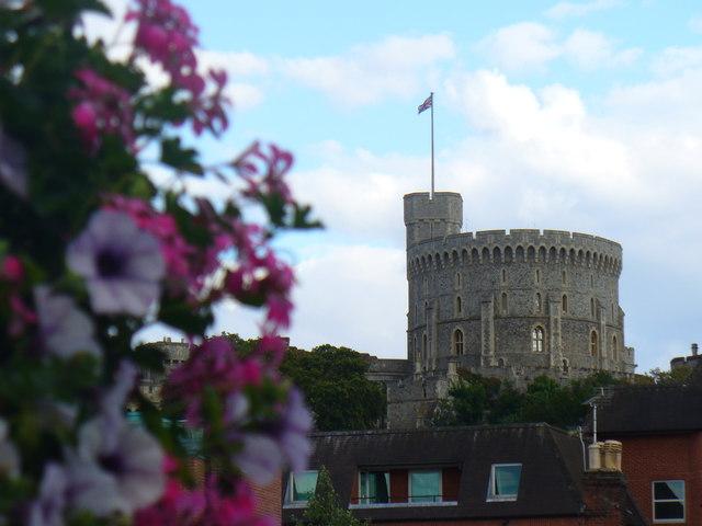 Round Tower from Windsor Bridge