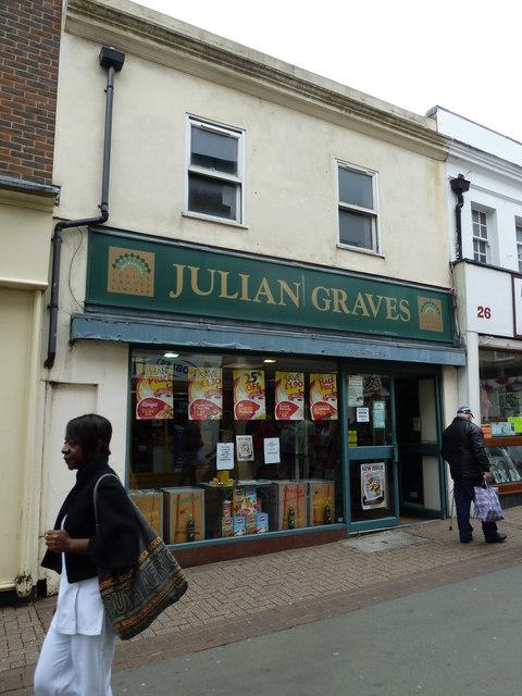 Ryde High Street- Julian Graves