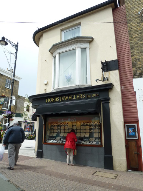 Ryde High Street- Hobbs Jewellers (Est 1946)