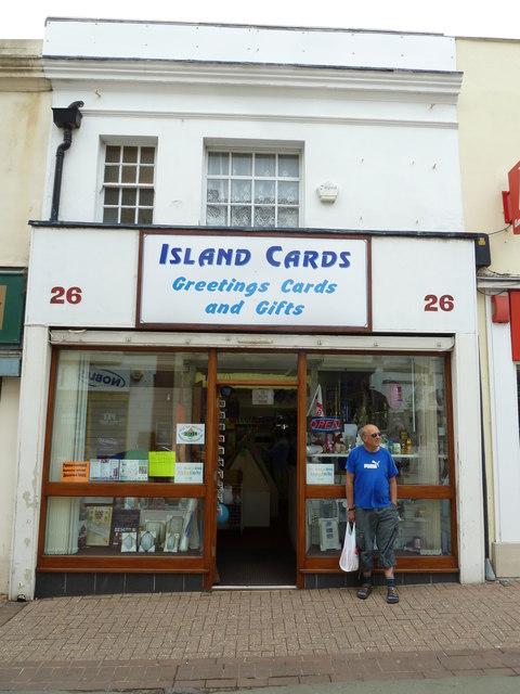 Ryde High Street- Island Cards