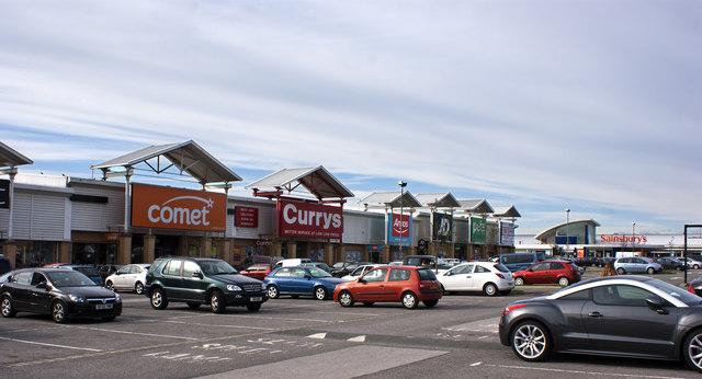 The Parsonage Retail Park