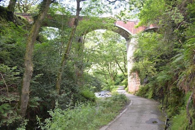 Railway viaduct at Dolgoch