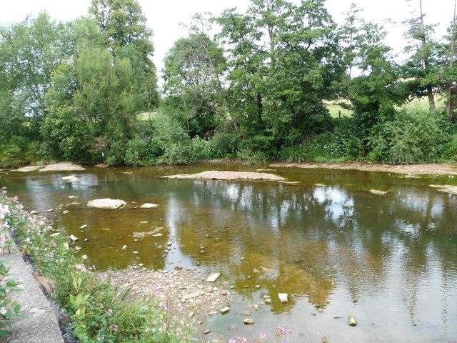 River Teme, upstream of Teme Bridge