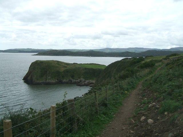 Barcloy Hill path