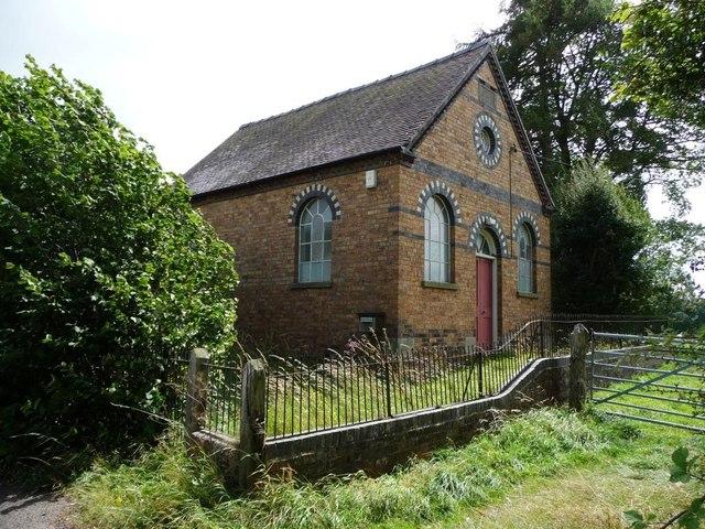 Angel Bank Primitive Methodist Chapel, Bitterley Lane