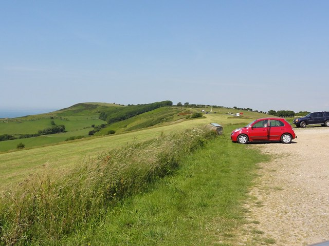 Car Park on the Purbeck Hills