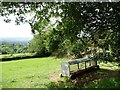 SO5877 : Animal feeder under a tree by Christine Johnstone