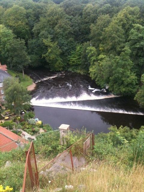 Weirs on the River Nidd, Knaresborough