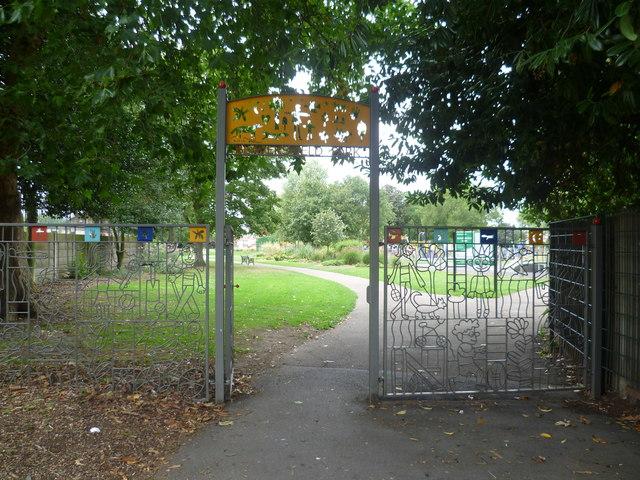 Entrance to Beaversfield Park