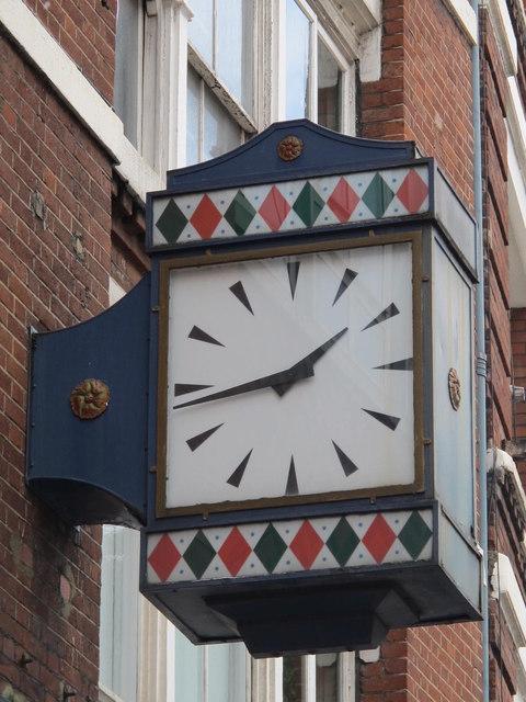 Clock, Carthusian Street, EC1