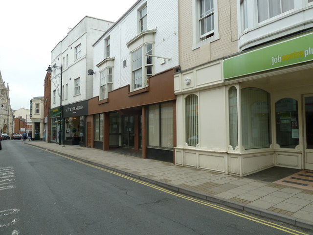 Mid section of the High Street