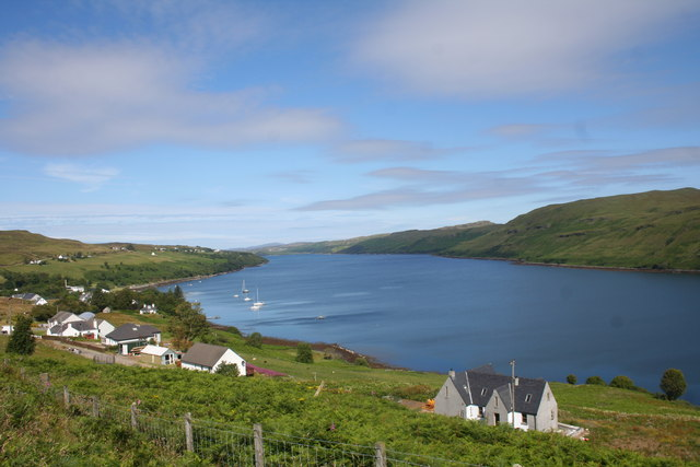 Carbost and Loch Harport