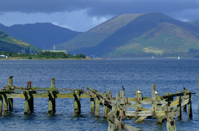 Old pier at Port Bannatyne