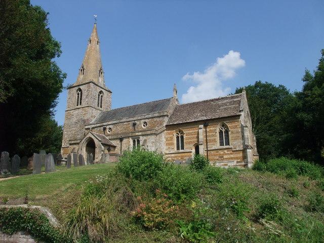 Church of St Helen, Gumley