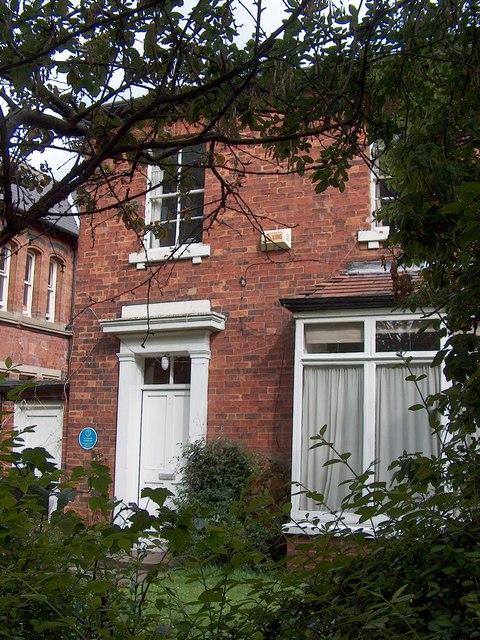 Atkinson Grimshaw's house on Cliff Road, Hyde Park, Leeds