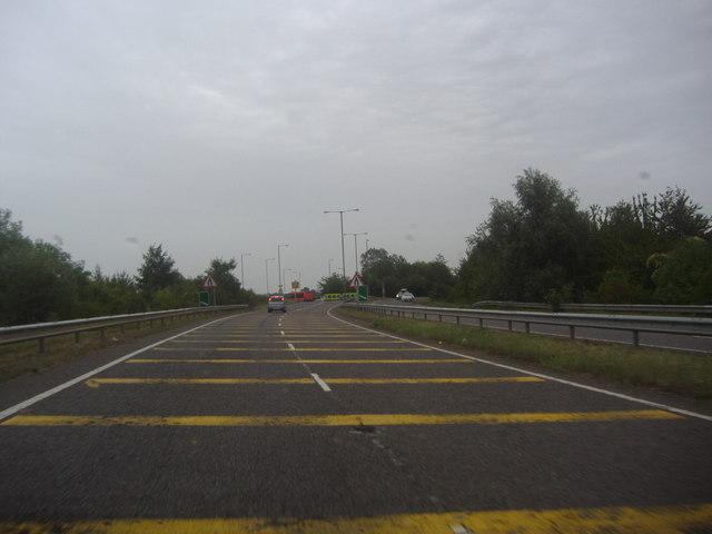 The A6 by Barton-le-Clay