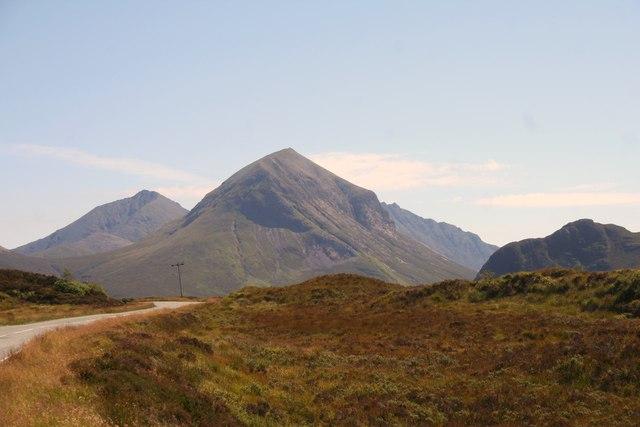 Road through Moorland