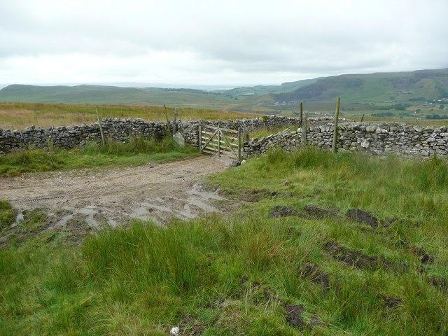 Gate on Moorhead Lane