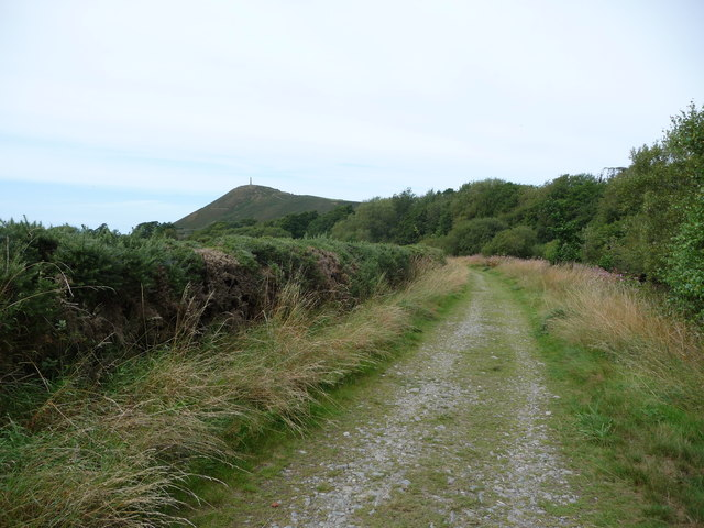 Path curving beside the Afon Ystwyth