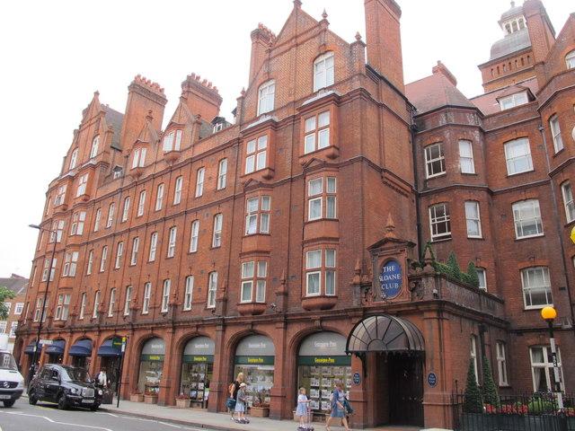 The Sloane Club, Lower Sloane Street, SW1