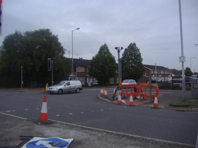 Austin Road at the junction of New Bedford Road