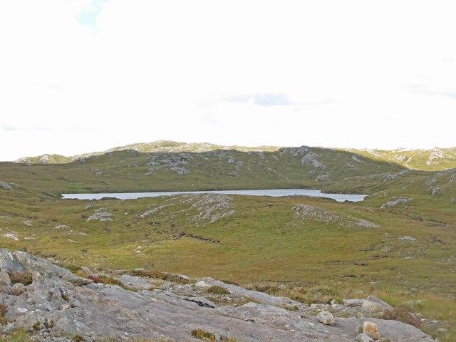 Loch in the Glen Golly Catchment