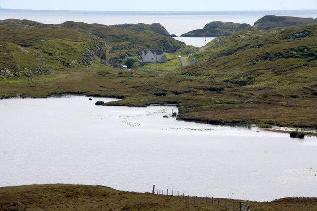 Loch na Criadhach and Ceann a' Bhaigh