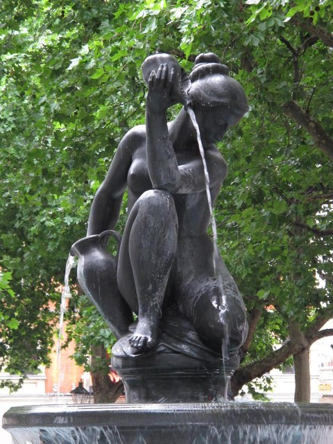 Nymph in Sloane Square, SW1