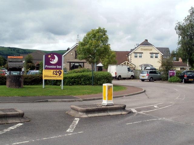Premier Inn and Brewers Fayre, Crossways, Caerphilly