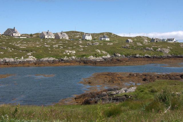 Ardvey (Aird Mhighe) from Finsbay (Fionnsabhagh)