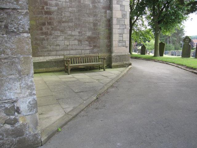 The north west corner of St Oswald's, Flamborough