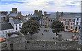SC2667 : Castletown Market Square by David Dixon