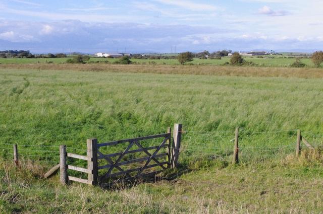 Farmland near Sunderland