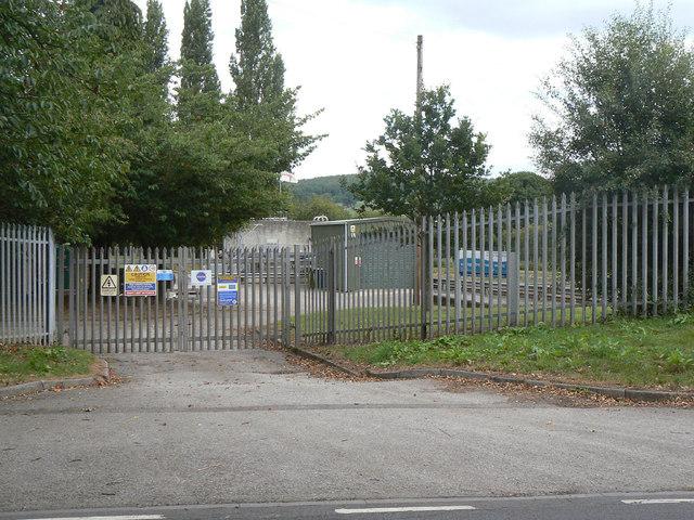 Calverton Sewage Treatment works