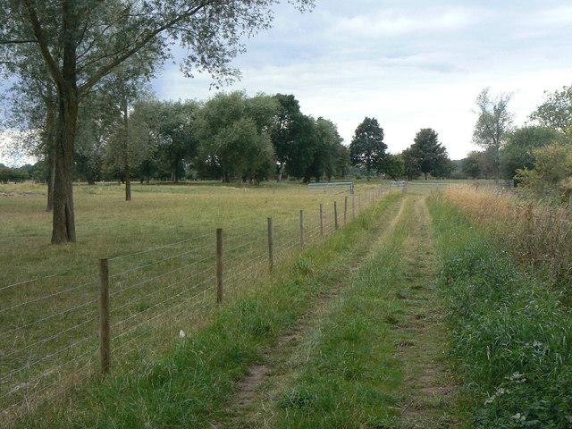 Bridleway near Criftin Mill Cottage