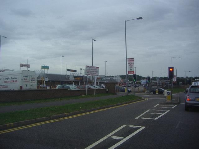 Luton retail park, Gipsy Lane