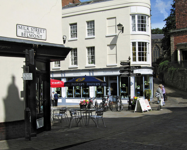 Corner of Milk Street and High Street