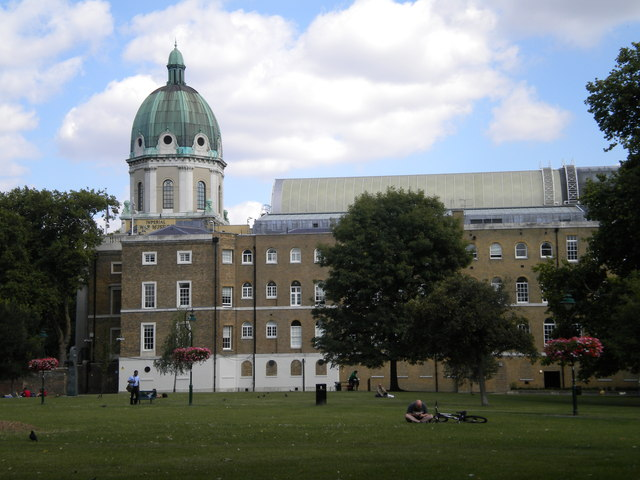 Imperial War Museum and Gardens, Kennington Road SE11