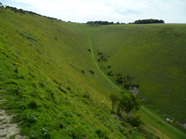 The western end of Devil's Dyke