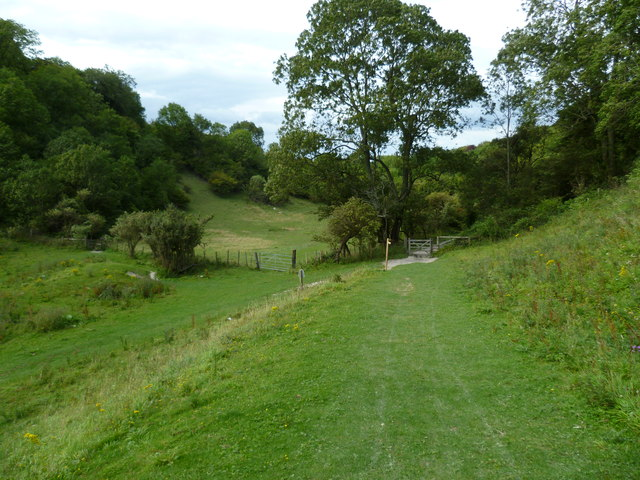 Gates at the eastern end of Devil's Dyke