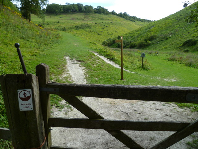 Gateway to Access Land at Devil's Dyke